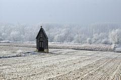 Schnee in Belgien